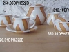 Tea set - zebra white